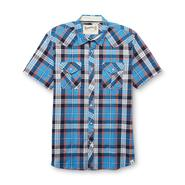 Roebuck & Co. Young Men's Short-Sleeve Western Shirt - Plaid at Sears.com