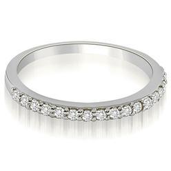 AMCOR 18K White Gold 0.11 cttw Classic Round Cut Diamond Wedding Band (I1, H-I) at Kmart.com