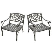 Crosley Outdoor Sedona 2 Piece Cast Aluminum Outdoor  Seating Set at Kmart.com