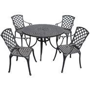 Crosley Outdoor Sedona Five Piece Cast Aluminum Outdoor Dining Set with High Back Arm Chairs at Kmart.com