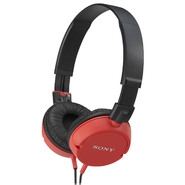Sony Red ZX Series Lightweight Stereo Headphones at Sears.com