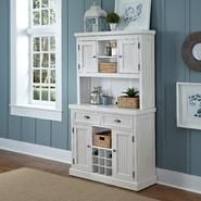Home Styles Distressed White Nantucket Buffet and Hutch at Kmart.com