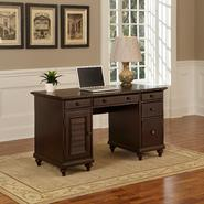 Home Styles Espresso Bermuda Pedestal Desk at Sears.com