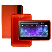 Visual Land Prestige 7G with Pro Folio Bundle (Red Orange) - 8GB Android 4.1 Google Play at Kmart.com