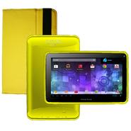 Visual Land Prestige 7G with Pro Folio Bundle (Yellow) - 8GB Android 4.1 Google Play at Kmart.com