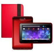 Visual Land Prestige 7G with Pro Folio Bundle (Red) - 8GB Android 4.1 Google Play at Kmart.com