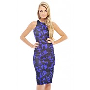 AX Paris Women's Printed Cut In Neck Midi Dress at Kmart.com
