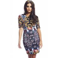AX Paris Women's Jewel Printed Bodycon Dress at Kmart.com