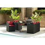 La-Z-Boy Outdoor Emett 5 Piece Dining Set at Kmart.com