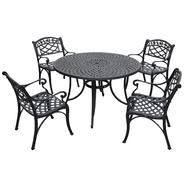 Crosley Outdoor Sedona Five Piece Cast Aluminum Outdoor Dining Set with Arm Chairs at Kmart.com