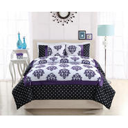 Bed Ink Franchesca Purple Dot Twin Comforter with Sham at Sears.com