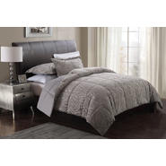 Monroe Big Zebra Embossed Full / Queen Comforter With 2 Shams at Kmart.com