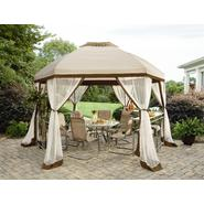 Garden Oasis Long Beach 13' Hex Gazebo with Net at Sears.com