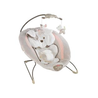 Fisher-Price My Little Snugapuppy Deluxe Plush Bouncer - Music, Sounds, Calming Vibrations