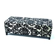 Bolbolac Flower Fabric Button-top Storage Bench Ottoman at Kmart.com