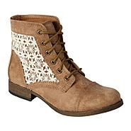 SM New York Women's Fashion Bootie Lovely - Tan at Sears.com