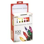 100  ct professional series mini light set, multi w/ green wire at Kmart.com