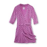 Joe Boxer Women's Jersey Knit Robe - Polka Dots at Sears.com