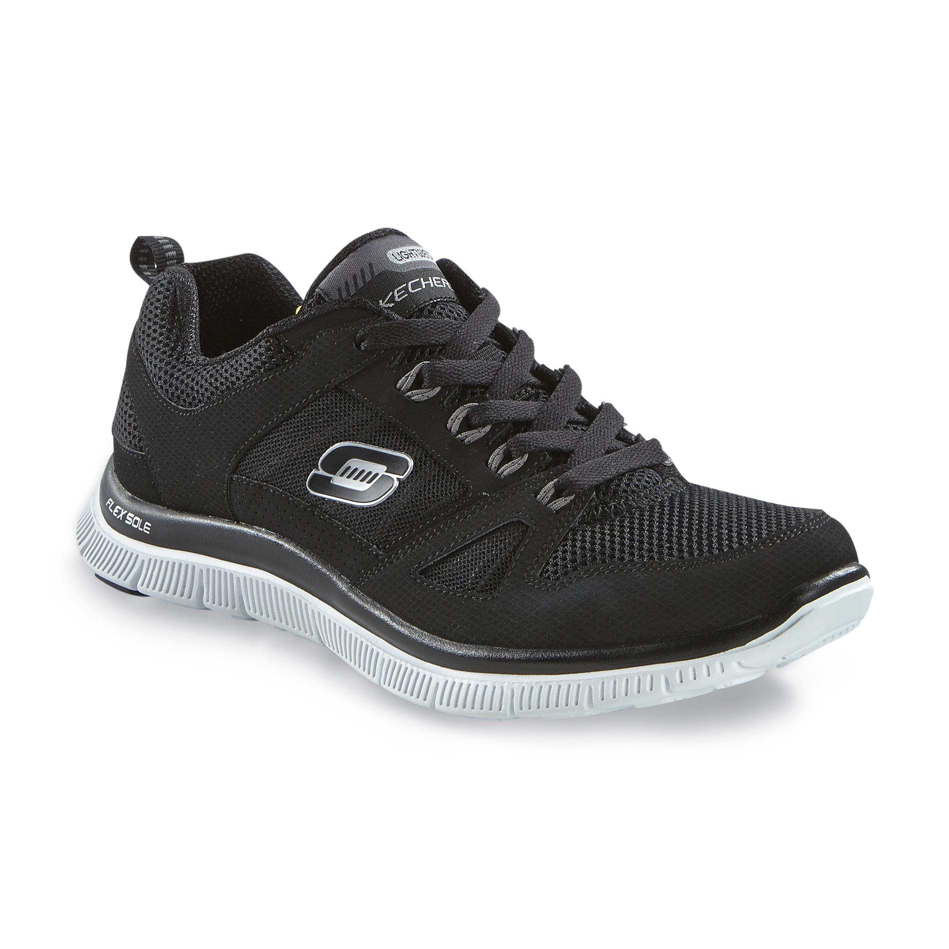 Women's Flex Appeal - Spring Fever Black Athletic Shoe