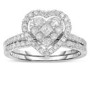 Infinitely Yours 10kt 1 cttw  Diamond Bridal Set at Sears.com