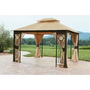 Grand Resort 10x12 Gazebo with Art Glass Panels at Sears.com