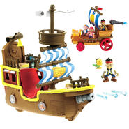 Fisher-Price Jake & the Pirates Musical Pirate Ship Bucky & Sailwagon Bundle at Kmart.com