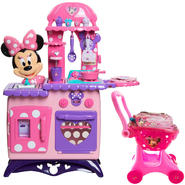 Minie Bowtique Kitchen & Shopping Cart Bundle        ...