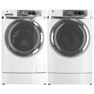 GE 4.8 cu. ft. RightHeight Design Front-Load Washer and 8.3 cu. ft. Dryer Bundle at Kmart.com