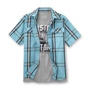 Canyon River Blues Boy's Button-Front Shirt & T-Shirt - Custom Motorcycle at Sears.com