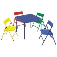 Safety 1st Kid's 5 Piece Folding Chair and Table Set at Kmart.com