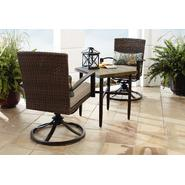 Grand Resort River Oak 3 Piece Woven Bistro Set at Sears.com