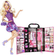 Barbie Fashionista Doll & Ultimate Closet Bundle     ...