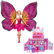 Barbie Mariposa and the Fairy Princess Doll & The Fai...