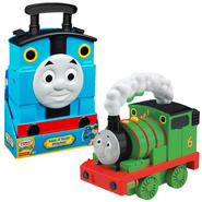 Thomas & Friends Tote A Train Playbox & Light-Up Talking Percy Bundle at Kmart.com