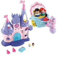 Disney Princess Songs Palace & Princess Vehicle Ariel...