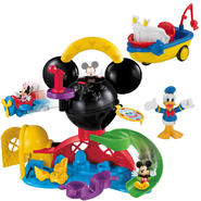 Fisher-Price Mickey Mouse Clubhouse Fly'n Slide Clubhouse & Single Vehicle Pack Bundle at Kmart.com