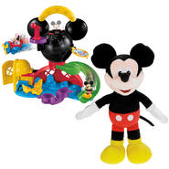 Fisher-Price Disney Mickey's Sing & Giggle & Clubhouse Fly'n Slide Playset Bundle at Kmart.com