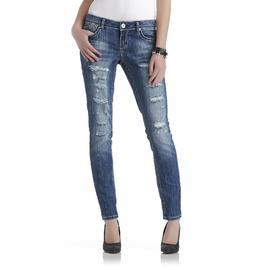 Bongo Junior's Cuffed Distressed Skinny Jeans at Sears.com