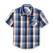 Toughskins Infant & Toddler Boy's Woven Short-Sleeve Shirt - Plaid at Sears.com