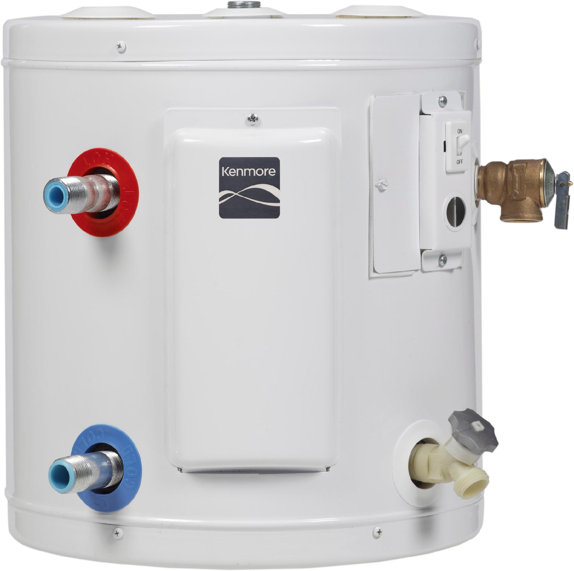 Kenmore 10 gal. 6-Year Compact Electric Water Heater