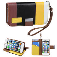 KTA 235 Soft PU leather case with wrist band-colorful black at Kmart.com