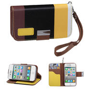 KTA 215 Soft PU leather case with wrist band-colorful black at Kmart.com