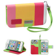 KTA 213 Soft PU leather case with wrist band-colorful Pink at Kmart.com