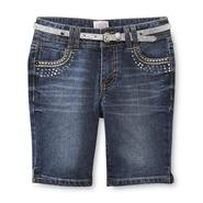 Canyon River Blues Girl's Belt & Stretch Denim Shorts at Sears.com