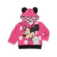 Disney Infant & Toddler Girl's Hoodie Jacket - Minnie Mouse at Kmart.com