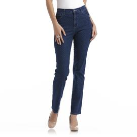 Gloria Vanderbilt Women's Classic Fit Amanda Jeans - Pin Dot at Sears.com