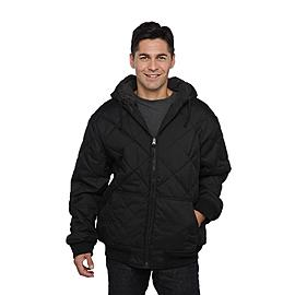 Route 66 Men's Quilted Hooded Winter Coat at Kmart.com