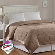 Madison Classics Prospect Microfiber Down Alternative Blanket in Mocha at Sears.com