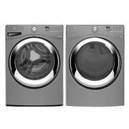 Whirlpool 4.1 cu. ft. Front-load Washer and 7.4 cu. ft. Dryer - Chrome Shadow Bundle at Kmart.com