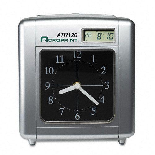 Acroprint Model ATR120 Analog/LCD Automatic Time Clock